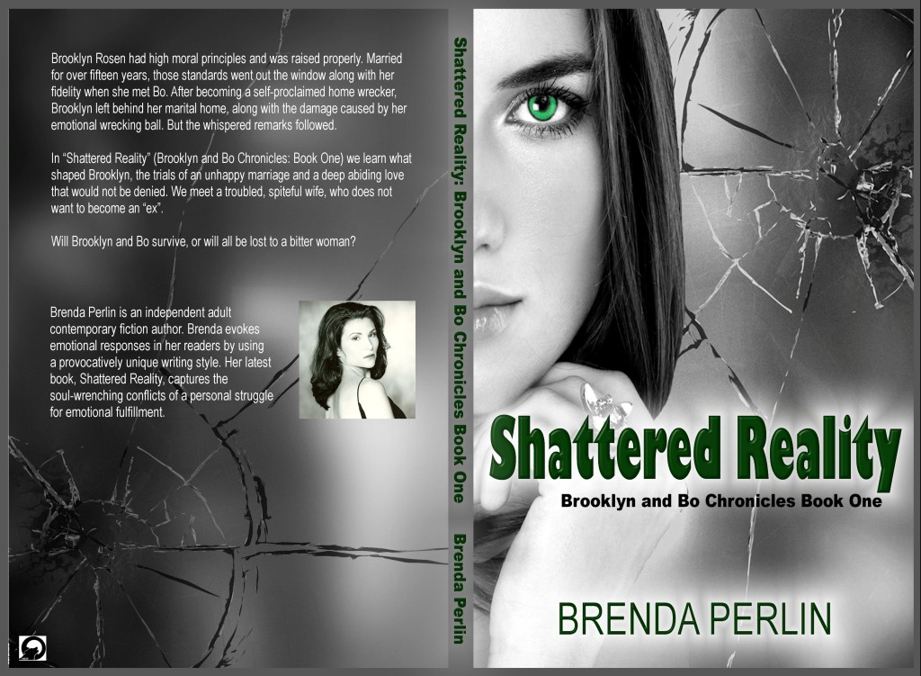 Cover from Shattered Reality Author Brenda Perlin
